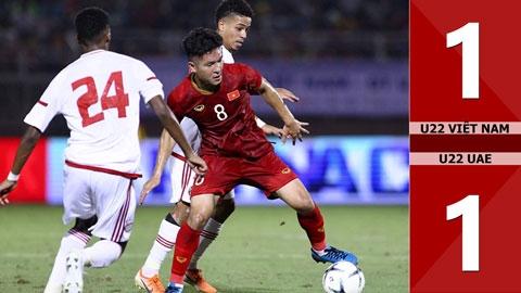 U22 Việt Nam 1-1 U22 UAE(Giao hữu 2019)