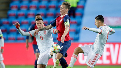 Na Uy 1-1 TBN: Mất điểm phút cuối, Tây Ban Nha vẫn phải đợi
