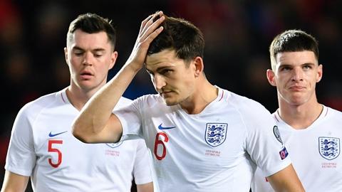 Maguire: 'Cầu thủ Anh gặp khó khăn do phong độ kém ở CLB'