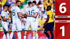 Argentina 6-1 Ecuador(Giao hữu QT 2019)