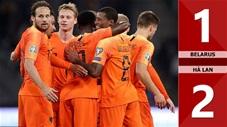 Belarus 1-2 Hà Lan(Vòng loại Euro 2020)