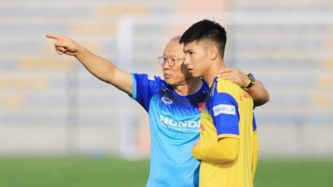 Thầy Park gạch tên Tuấn Anh và Trọng Hùng ở trận gặp Indonesia
