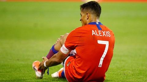 Sanchez chấn thương tại ĐT Chile, có thể nghỉ hết năm