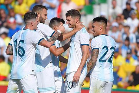 """Ecuador 1-6 Argentina: Vắng loạt sao """"bự"""", Argentina vẫn thắng đậm"""