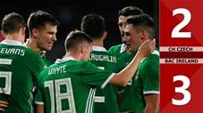 CH Czech 2-3 Bắc Ireland(Vòng loại Euro 2020)