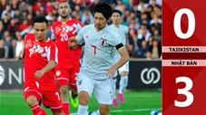 Tajikistan 0-3 Nhật Bản(Vòng loại WCup 2022 KV Châu Á)
