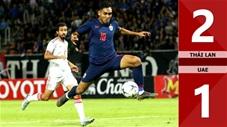 Thái Lan 2-1 UAE(Vòng loại WCup 2022 KV Châu Á)