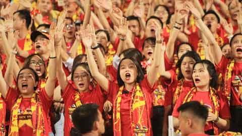 CĐV Việt Nam chỉ được mua 1.000 vé trận gặp Indonesia
