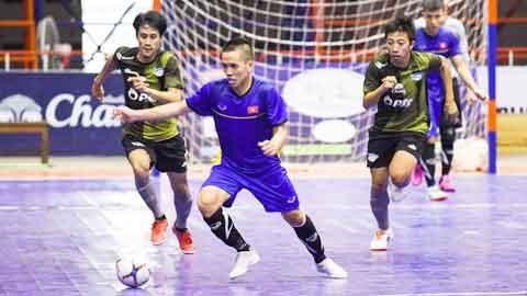 ĐT futsal Việt Nam chuẩn bị cho giải vô địch ĐNÁ 2019