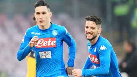 Mertens và Callejon chuẩn bị chia tay Napoli