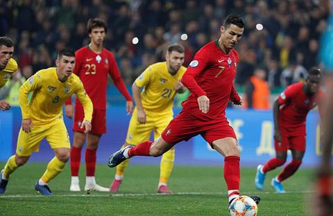Ukraine 2-1 Bồ Đào Nha: Ukraine giành vé dự EURO 2020