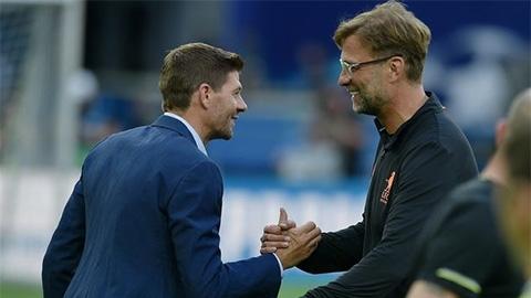 Gerrard có thể kế nhiệm Klopp dẫn dắt Liverpool