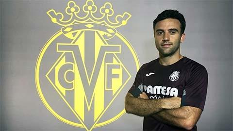 Villarreal đón tay săn bàn vĩ đại nhất lịch sử CLB trở lại