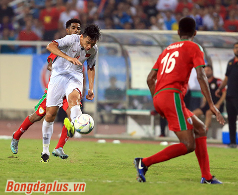 Văn Hậu là một trong những quả ngọt bóng đá Việt Nam tận hưởng từ đào tạo trẻ