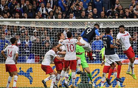 Pháp 1-1 Thổ Nhĩ Kỳ: Les Bleus chưa thể giành vé