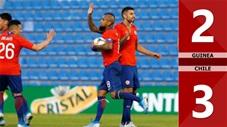 Guinea 2-3 Chile(Giao hữu QT 2019)