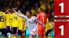Thụy Điển 1-1 Tây Ban Nha(Vòng loại Euro 2020)