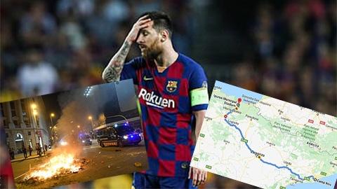 Messi bị hành xác khi Barca làm khách của Eibar