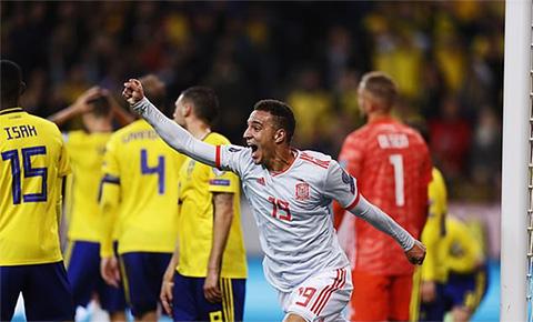 Thụy Điển 1-1 Tây Ban Nha: Hòa hú vía Thụy Điển, Tây Ban Nha có mặt ở VCK EURO 2020