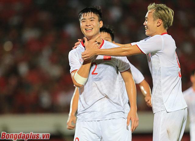 Hàng hậu vệ của Việt Nam nhiều lần trước đó luôn hỗ trợ rất tốt cho hàng công, đặc biệt là những pha kiến tạo ở VCK U23 châu Á 2018, ASIAD 2018, AFF Cup 2018 hay Asian Cup 2019