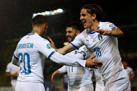 Liechtenstein 0-5 Italia: Belotti lập cú đúp, Italia đại thắng nơi đất khách