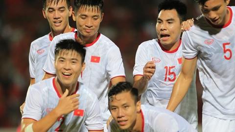 ĐT Việt Nam trước cơ hội trở lại hạng 97 thế giới