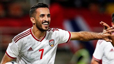 UAE mất tay săn bàn số 1 ở trận đấu với Việt Nam