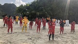 ĐT nữ Việt Nam kết thúc tập huấn tại Quảng Ninh
