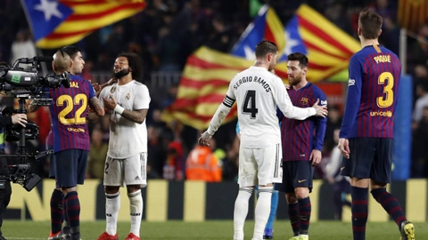Real và Barca từ chối đổi lịch đá El Clasico
