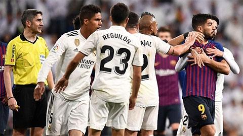 Barca và Real chốt ngày đá bù Siêu kinh điển