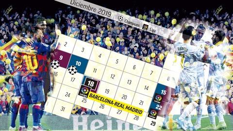 Dời lịch Siêu kinh điển ảnh hưởng như thế nào đến Barca và Real?
