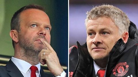 Woodward bảo vệ Solskjaer đến hết 3 năm hợp đồng với M.U