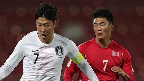 Nếu Hàn Quốc thắng CHDCND Triều Tiên, Son Heung-min sẽ gãy chân