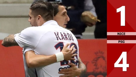Nice 1-4 PSG(Vòng 9 Ligue 1 2019/20)