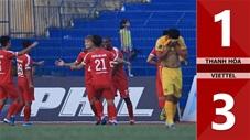 Thanh Hóa 1-3 Viettel(Vòng 25 V.League 2019)