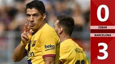 Eibar 0-3 Barcelona(Vòng 9 La Liga 2019/20)