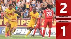 Nam Định 2-1 Hải Phòng(Vòng 25 V.League 2019)