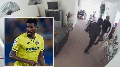 Đến lượt cầu thủ Villarreal bị trộm đột nhập