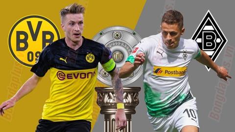 Nhận định bóng đá Dortmund vs M'gladbach, 23h30 ngày 19/10: Đại náo vùng Ruhr