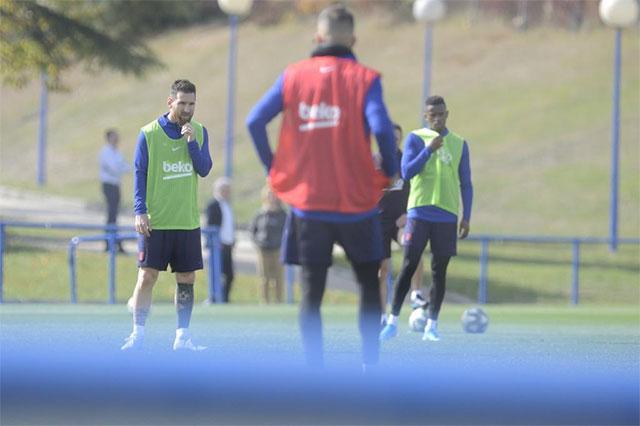 Messi mới ghi được 1 bàn ở La Liga mùa này