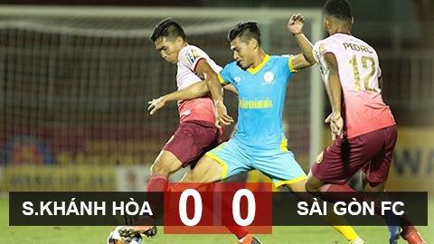 Sanna.KH 0-0 Sài Gòn: Sanna.KH chỉ có thể tự trách mình