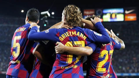 18h00 chiều nay, trực tiếp: Eibar vs Barcelona