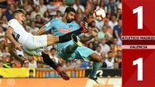 Atletico Madrid 1-1 Valencia(Vòng 9 La Liga 2019/20)