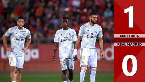 Mallorca 1-0 Real Madrid(Vòng 9 La Liga 2019/20)