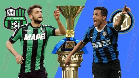 Nhận định bóng đá Sassuolo vs Inter Milan, 17h30 ngày 20/10: Thiếu Sensi, Inter sống sao?