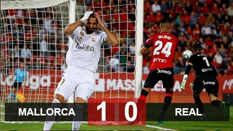 Malllorca 1-0 Real: Thất bại đầu tiên của Kền kền trắng