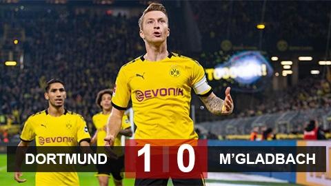 Dortmund 1-0 M''Gladbach: Chặn đứng đội đầu bảng