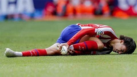Bom tấn Joao Felix của Atletico chấn thương