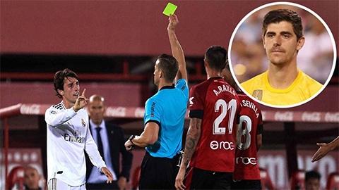 Courtois chê trách đồng đội sau thất bại của Real