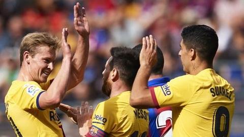 Barca đã sẵn sàng cho những cuộc chinh phạt